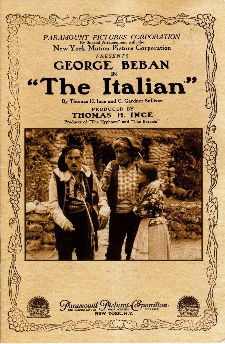 The Italian (1915 film) movie poster