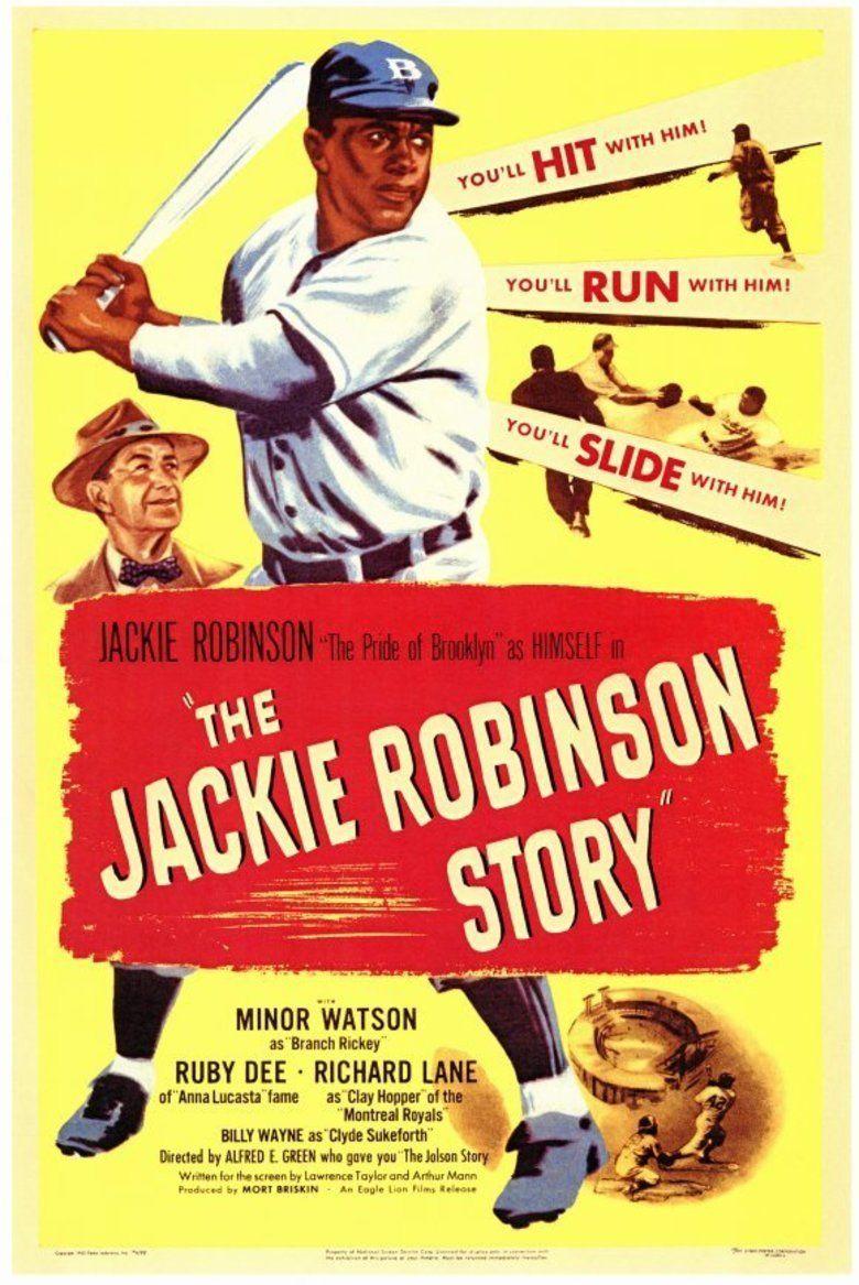 The Jackie Robinson Story movie poster