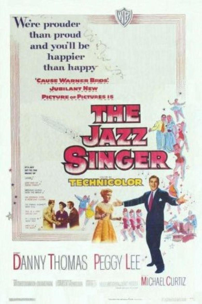 The Jazz Singer (1952 film) movie poster