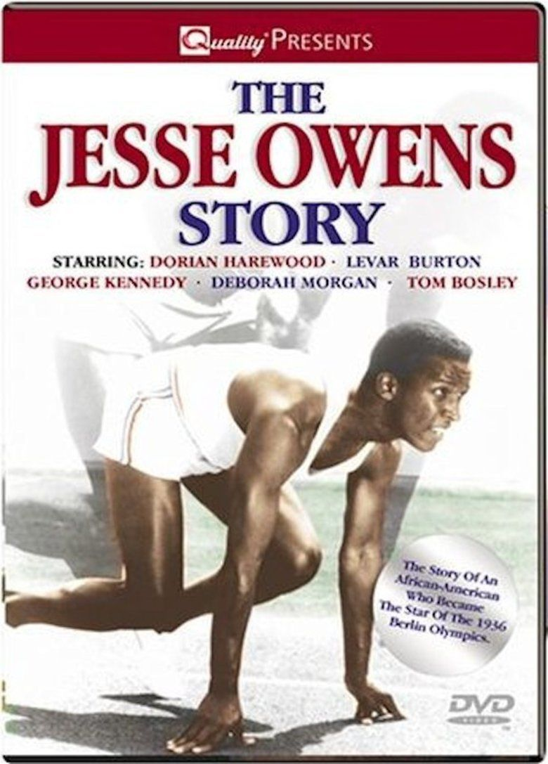 The Jesse Owens Story movie poster