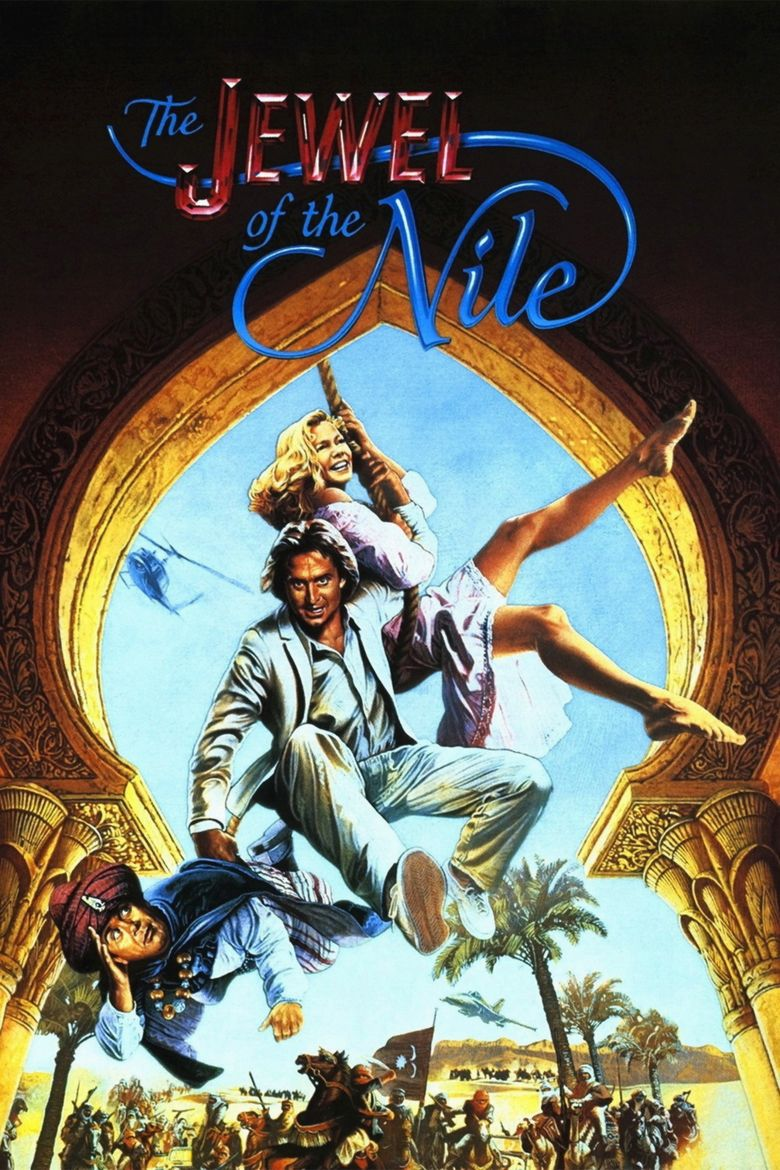 The Jewel of the Nile movie poster