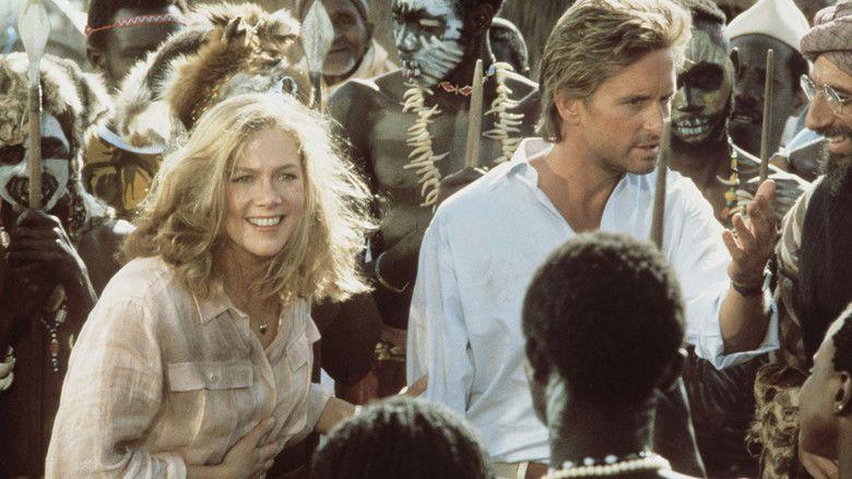 The Jewel of the Nile movie scenes