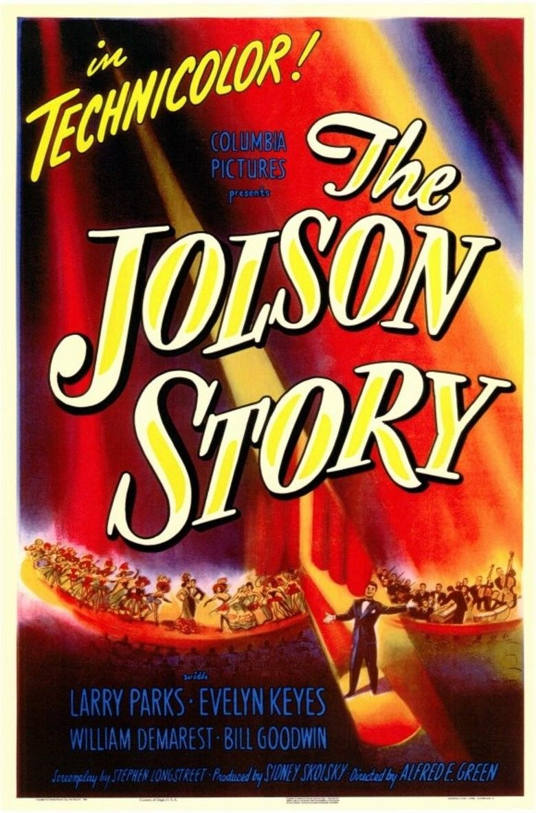 The Jolson Story movie poster