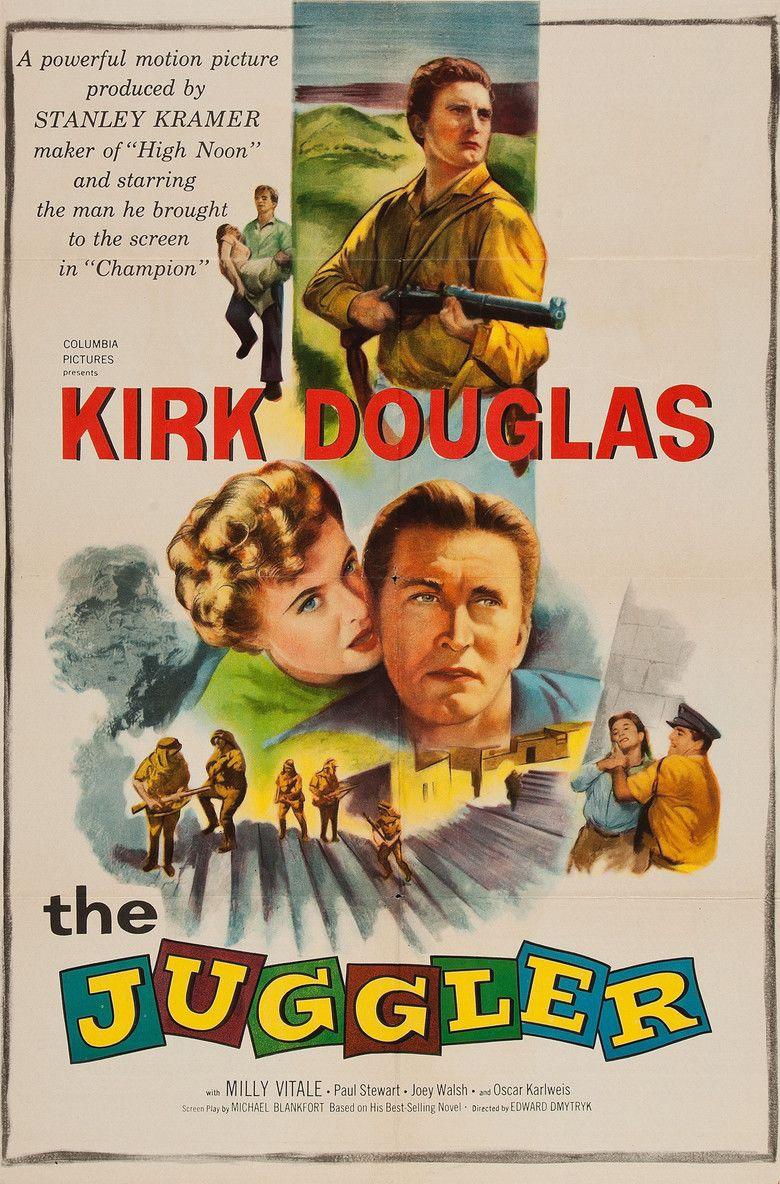 The Juggler (film) movie poster