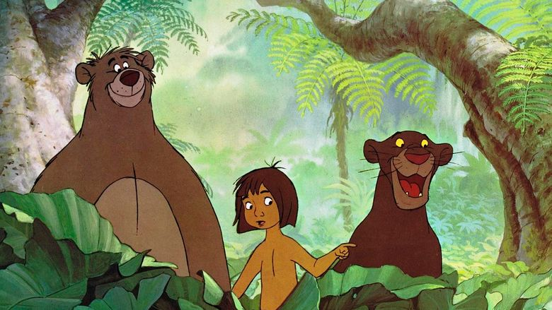 The Jungle Book (1967 film) movie scenes