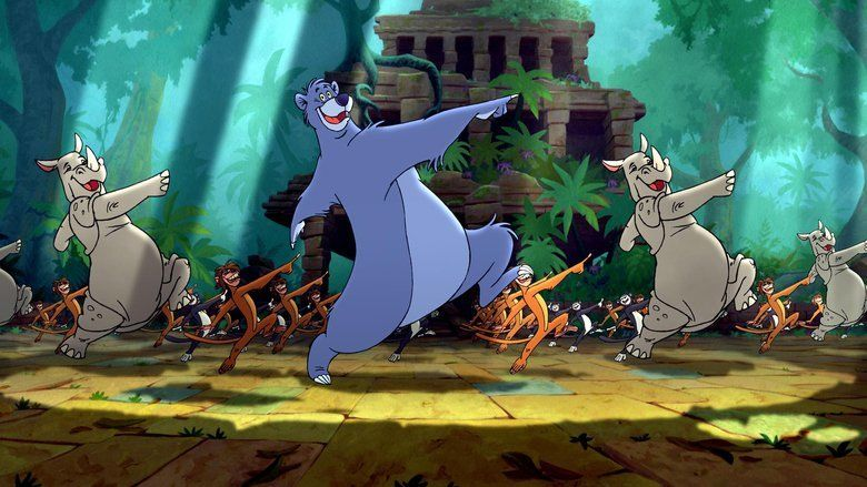 The Jungle Book 2 movie scenes