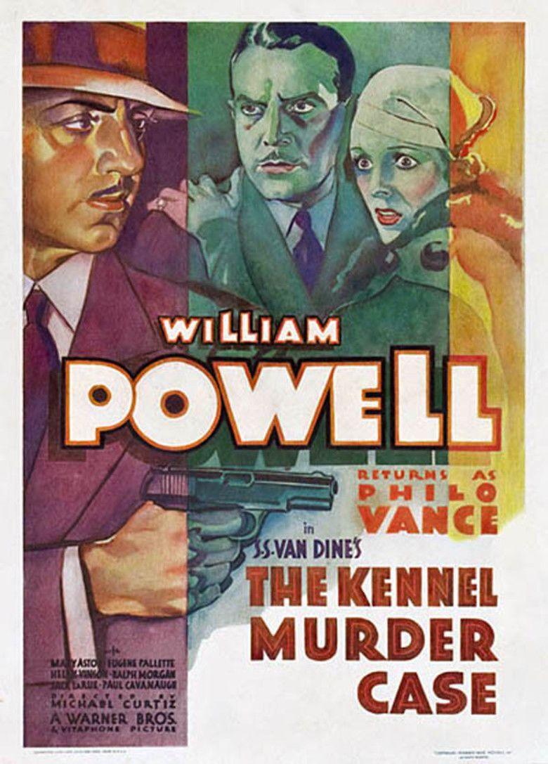The Kennel Murder Case (film) movie poster