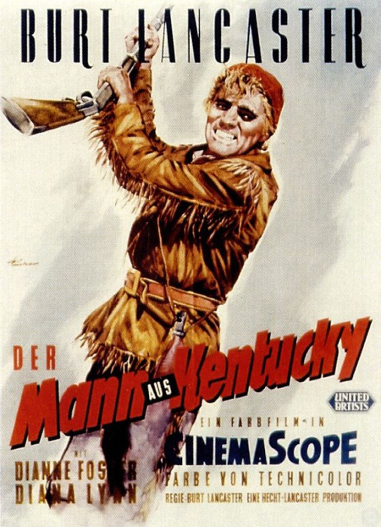 The Kentuckian movie poster
