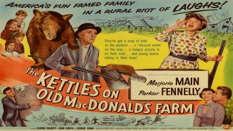 The Kettles on Old MacDonalds Farm movie scenes