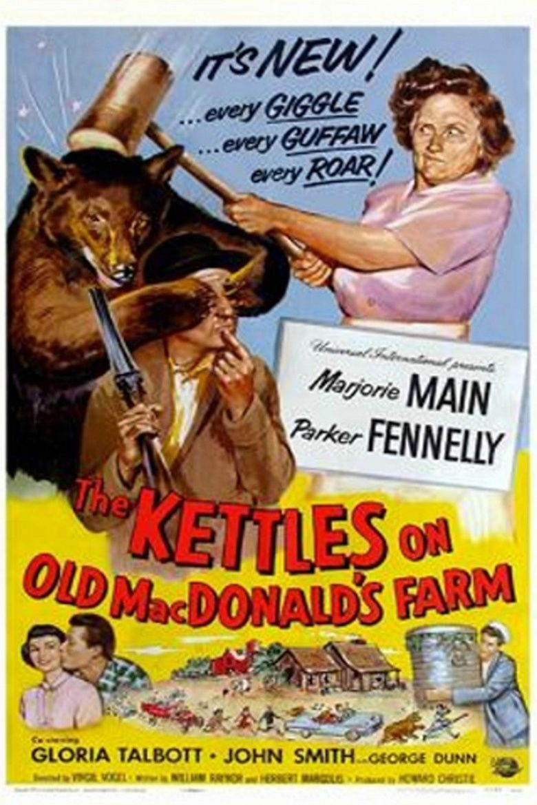 The Kettles on Old MacDonalds Farm movie poster