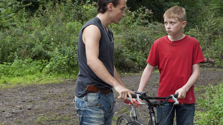 The Kid with a Bike movie scenes