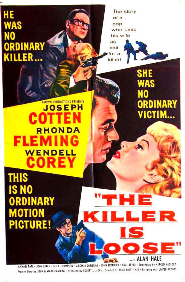The Killer Is Loose movie poster