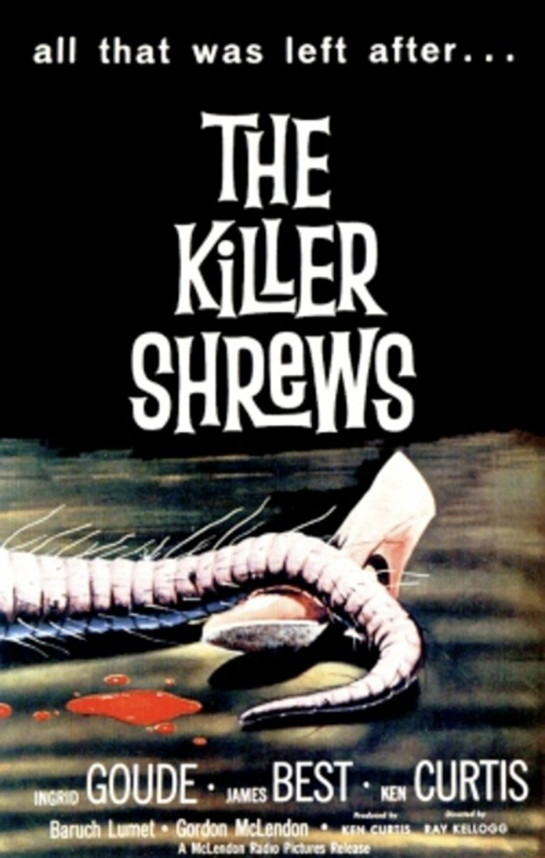 The Killer Shrews movie poster