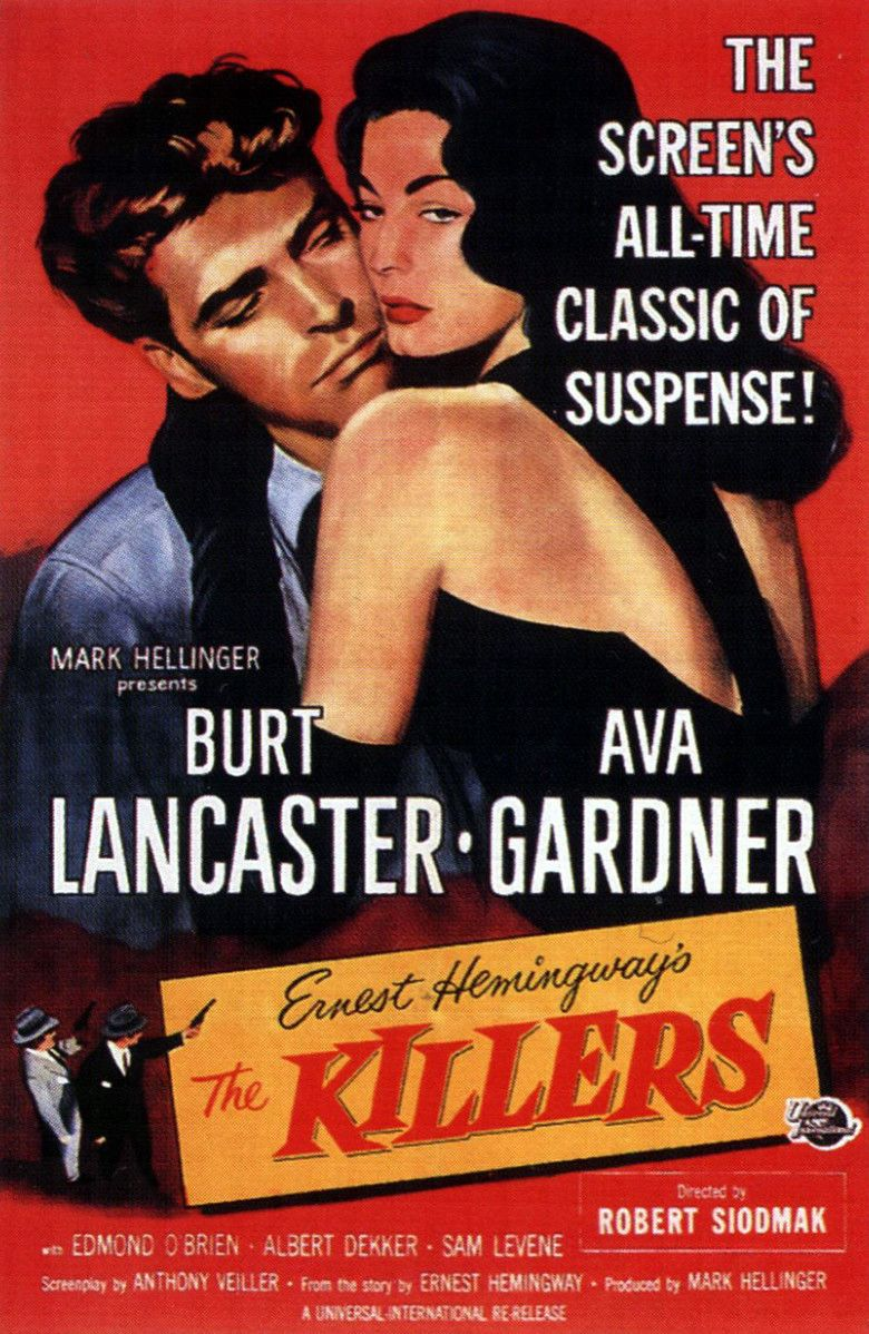 The Killers (1946 film) movie poster