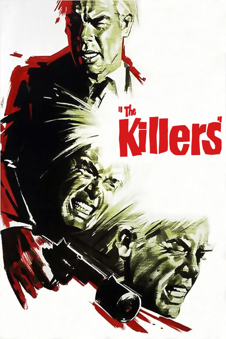 The Killers (1964 film) movie poster