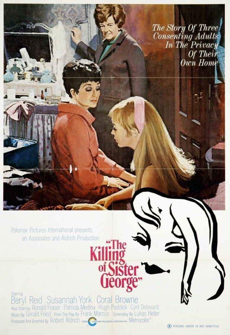 The Killing of Sister George movie poster