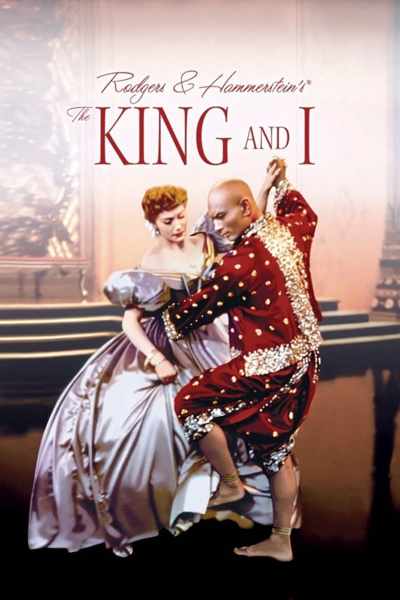 The King and I (1956 film) movie poster