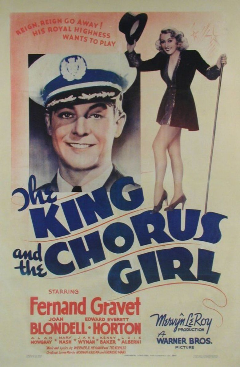The King and the Chorus Girl movie poster