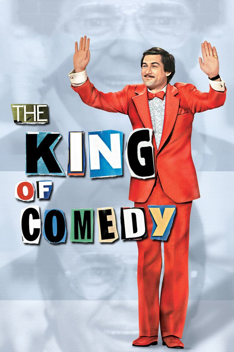 The King of Comedy (1983 film) movie poster