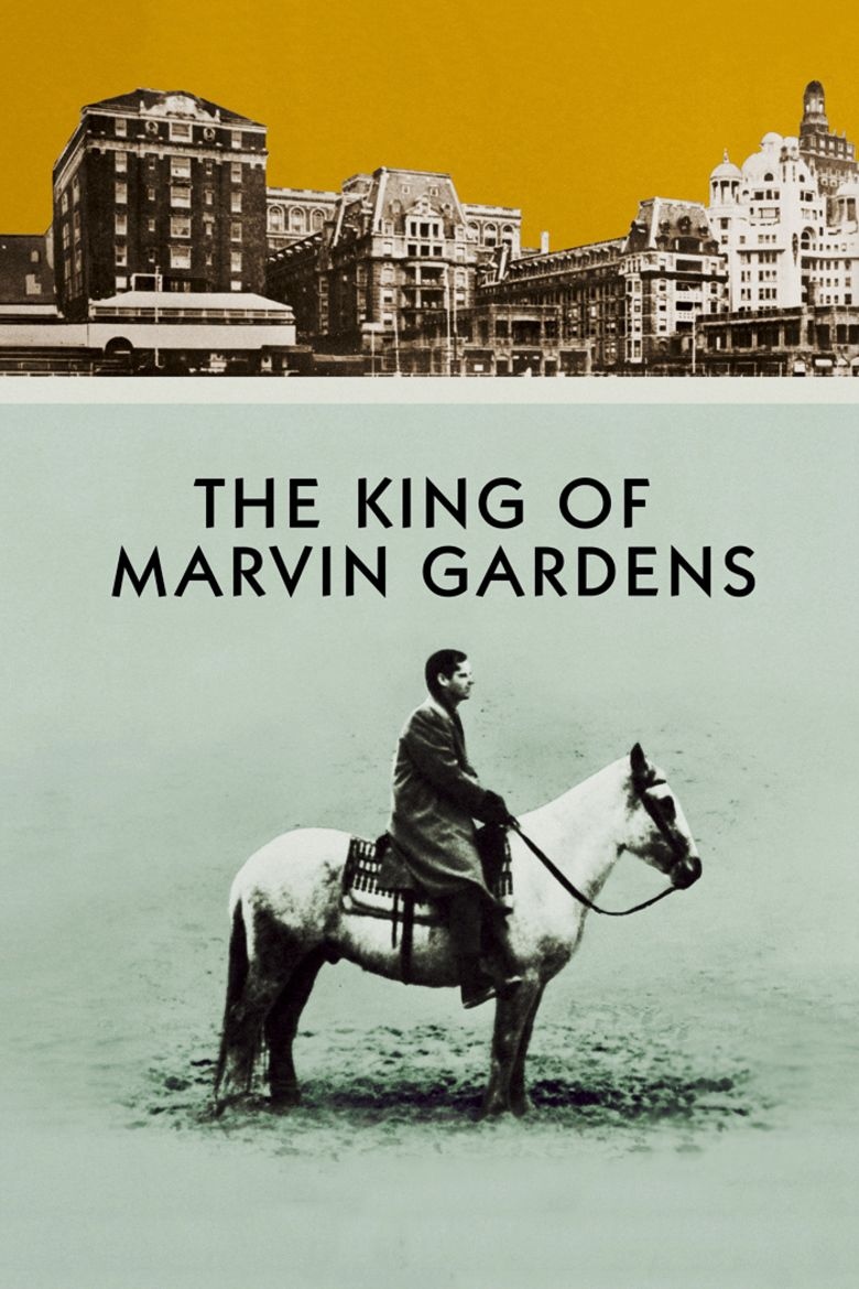 The King of Marvin Gardens movie poster