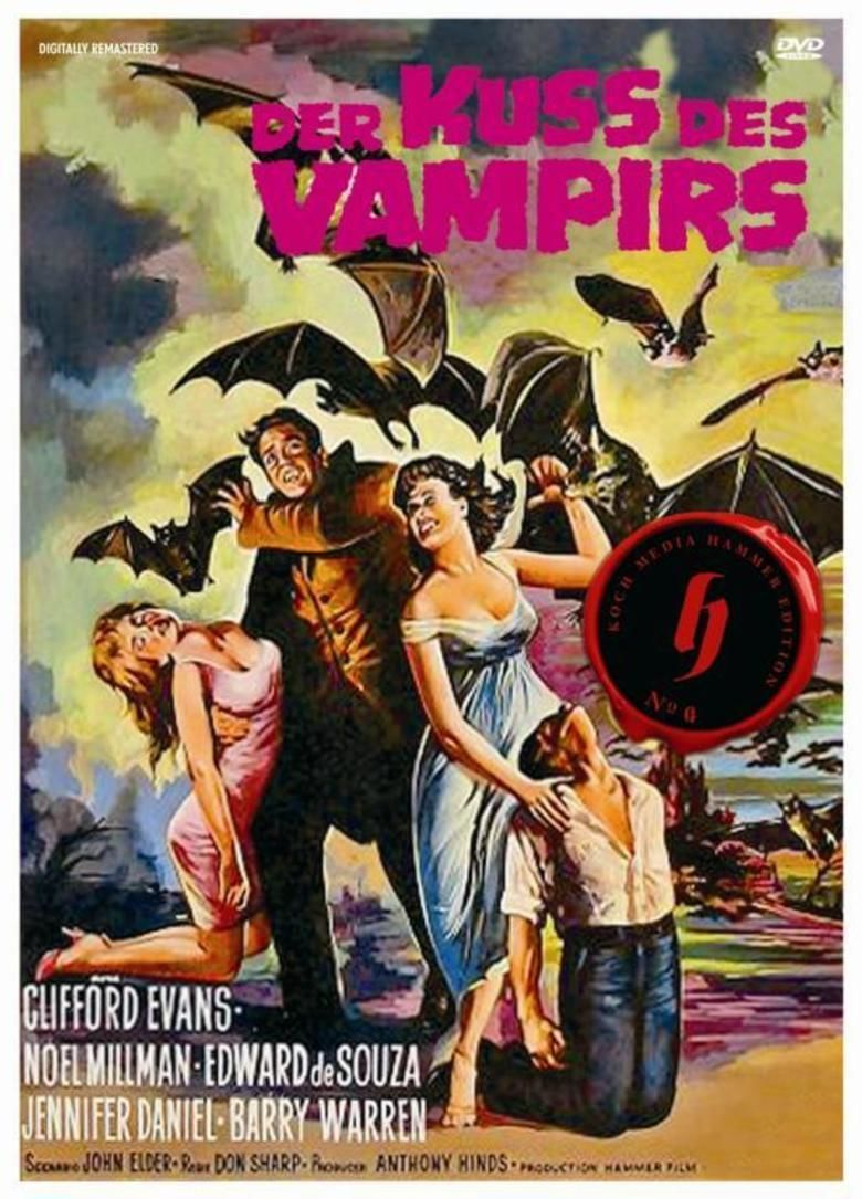 The Kiss of the Vampire movie poster