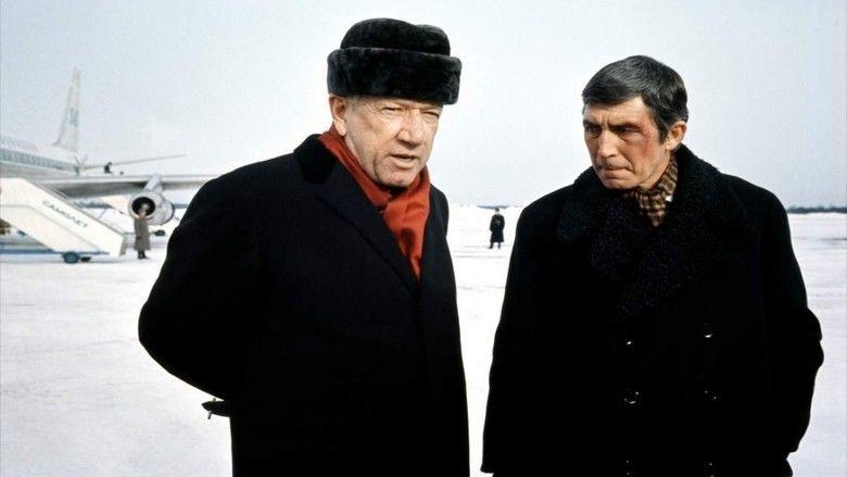 The Kremlin Letter movie scenes