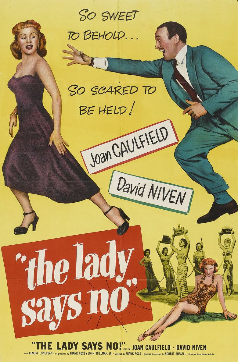 The Lady Says No movie poster