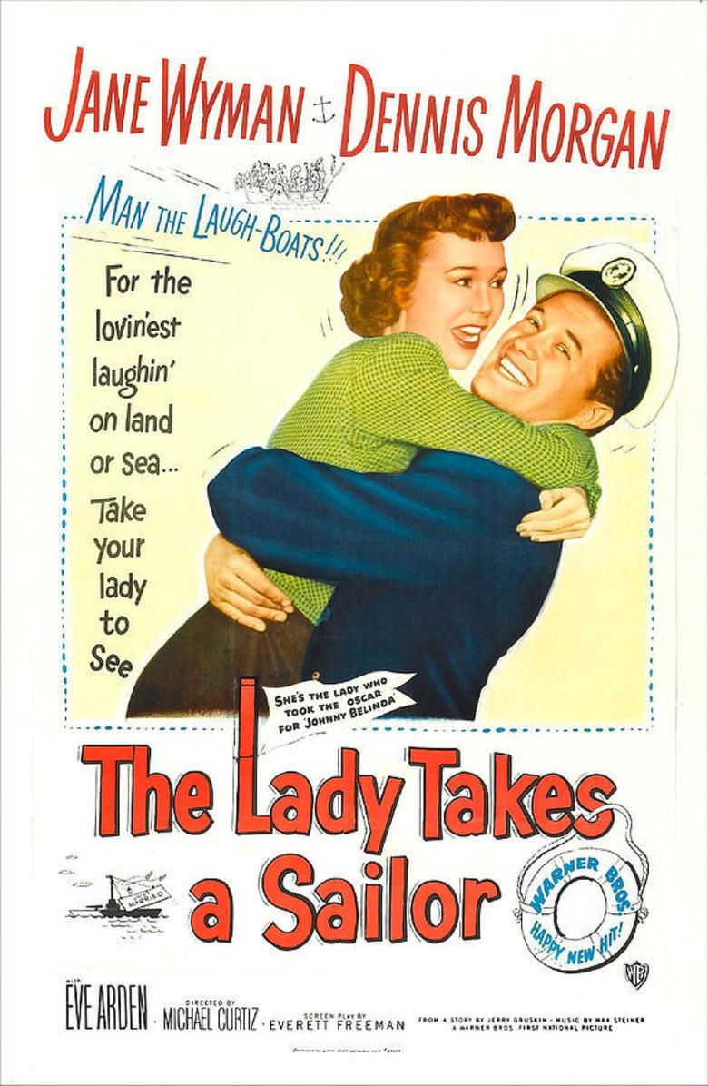 The Lady Takes a Sailor movie poster