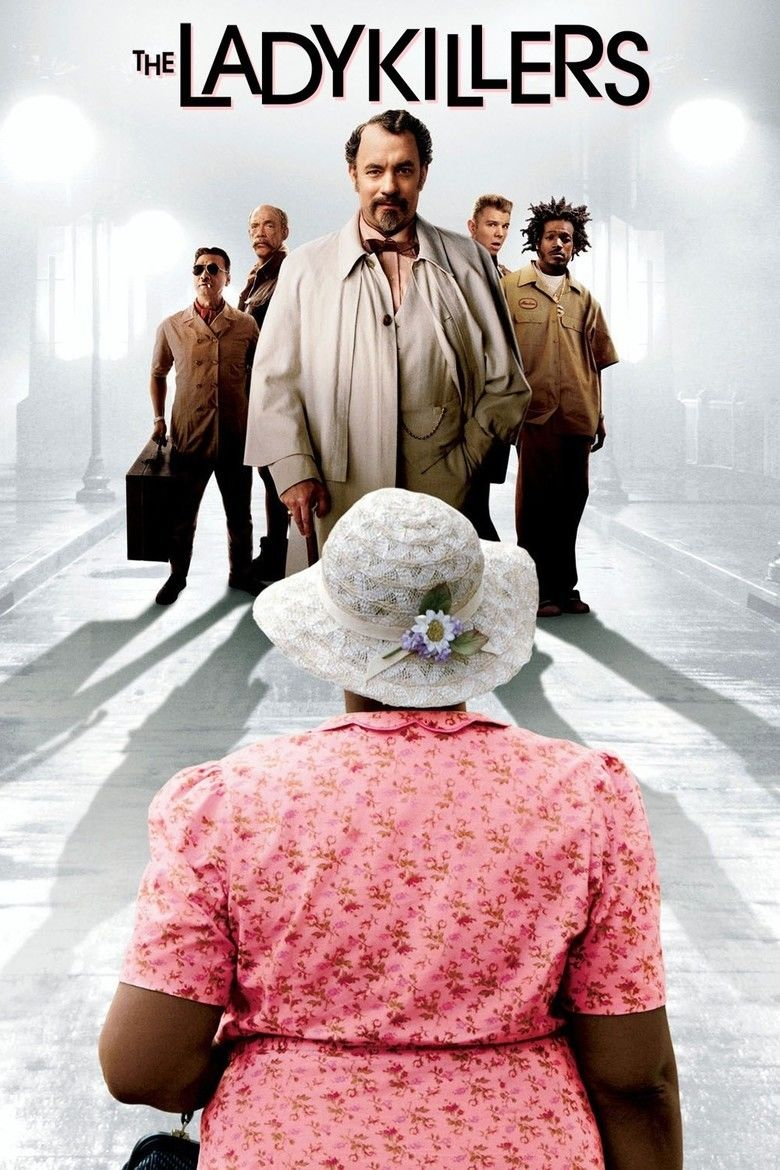 The Ladykillers (2004 film) movie poster