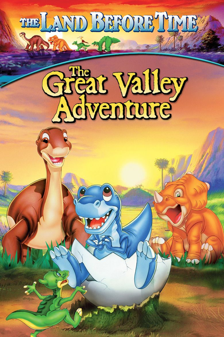 The Land Before Time II: The Great Valley Adventure movie poster
