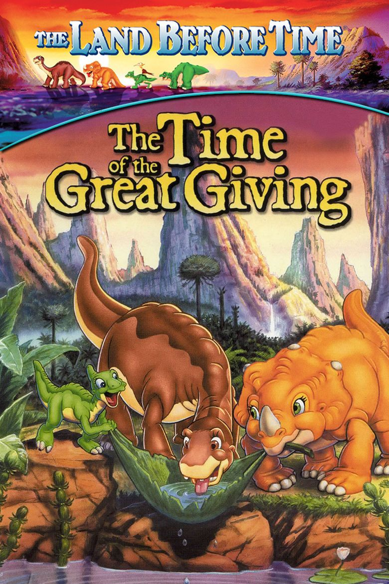 The Land Before Time III: The Time of the Great Giving movie poster