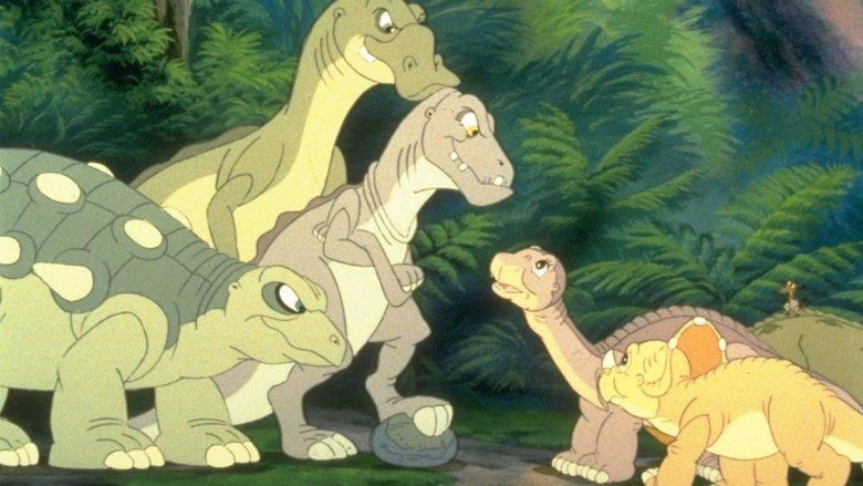 The Land Before Time III: The Time of the Great Giving movie scenes