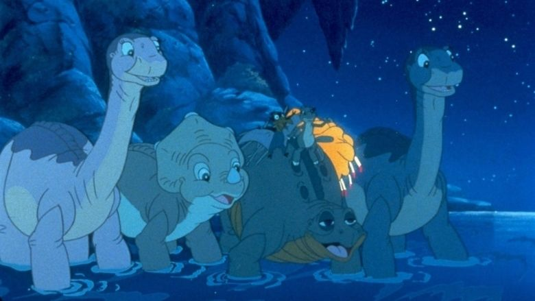 The Land Before Time IV: Journey Through the Mists movie scenes