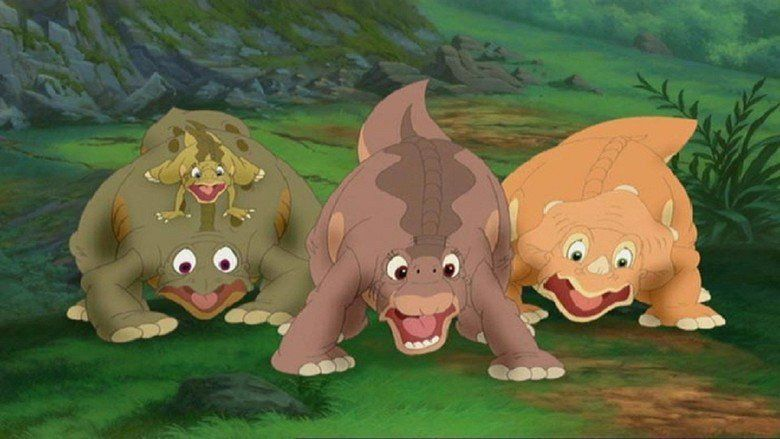 The Land Before Time IX: Journey to Big Water movie scenes