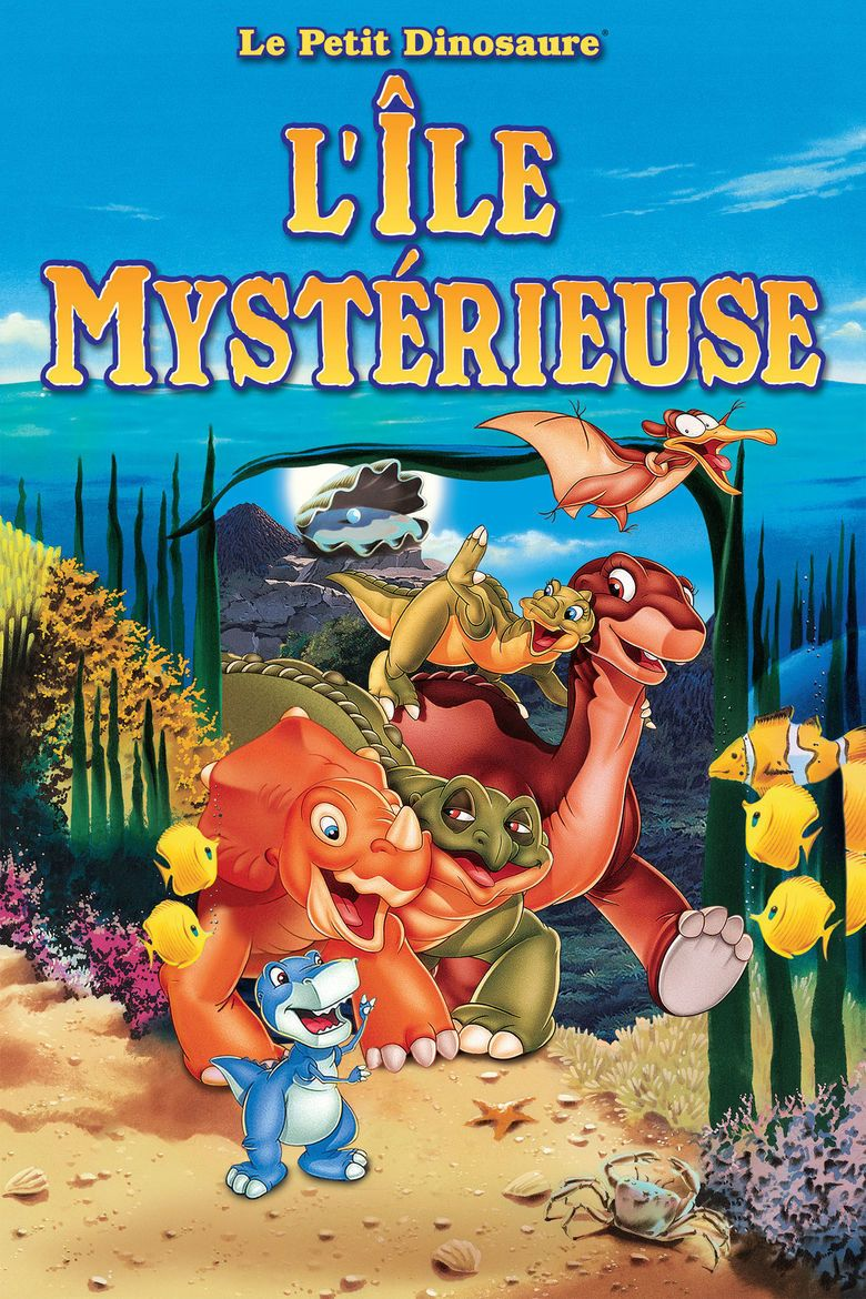 The Land Before Time V: The Mysterious Island movie poster