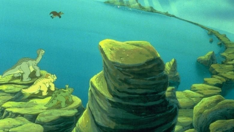 The Land Before Time V: The Mysterious Island movie scenes