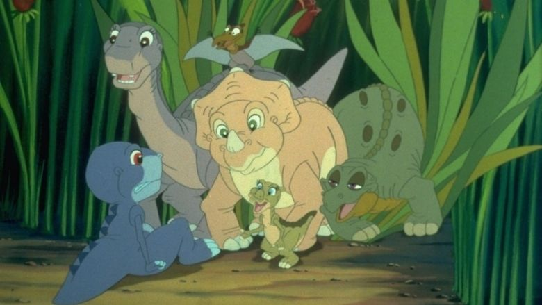the land before time 5 the mysterious island sharptooth
