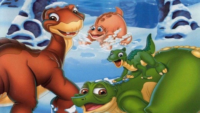 The Land Before Time VIII: The Big Freeze movie scenes