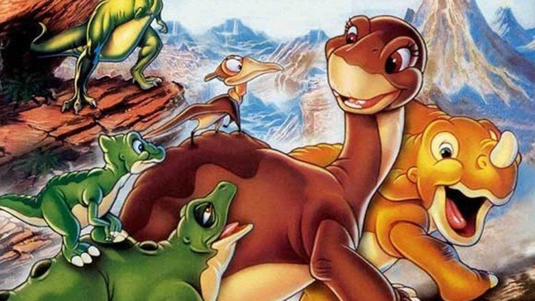 The Land Before Time movie scenes