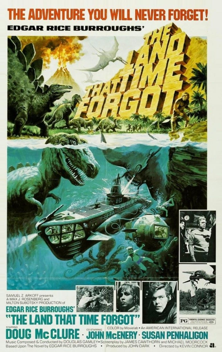 The Land That Time Forgot (1975 film) movie poster