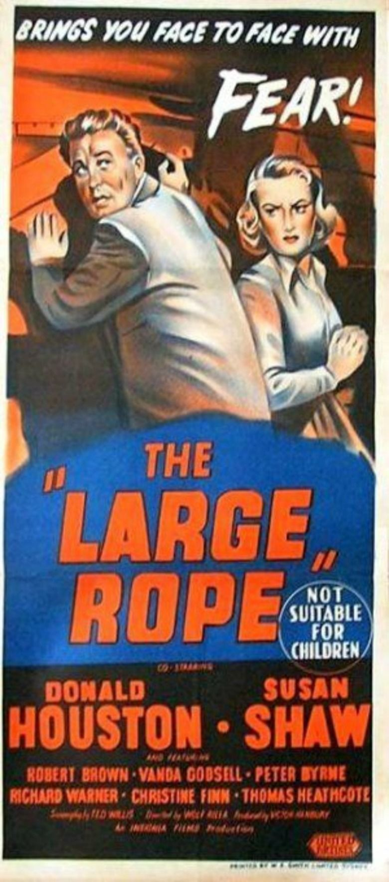 The Large Rope movie poster