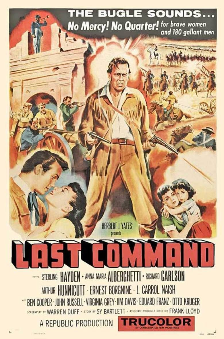 The Last Command (1955 film) movie poster