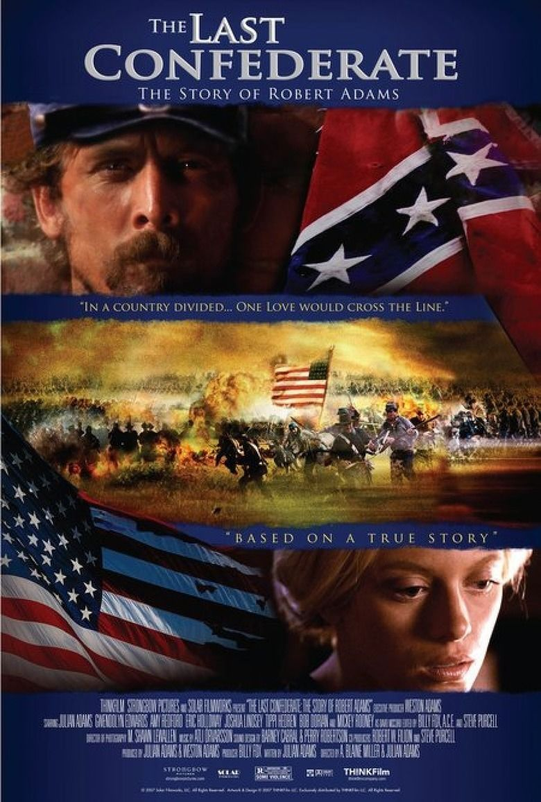 The Last Confederate: The Story of Robert Adams movie poster