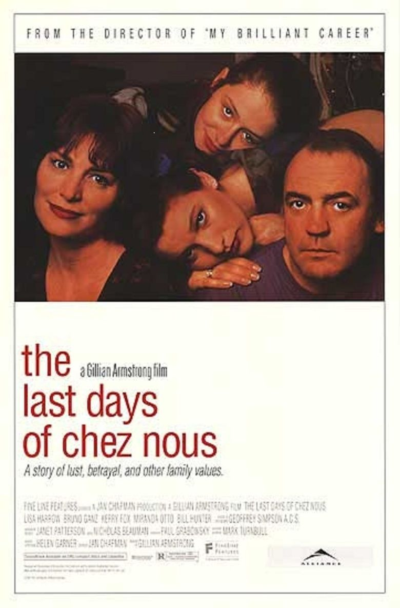 The Last Days of Chez Nous movie poster