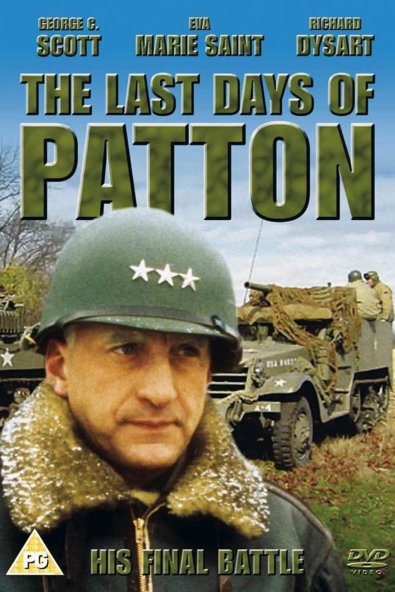 The Last Days of Patton movie poster