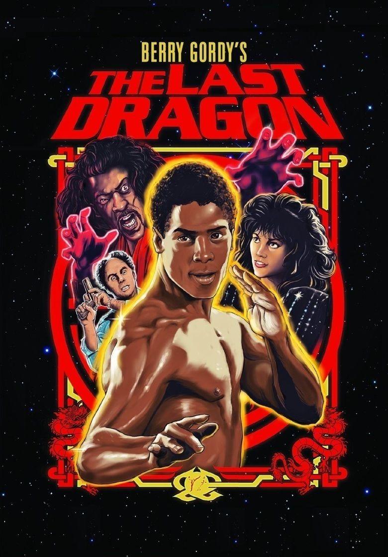 The Last Dragon movie poster