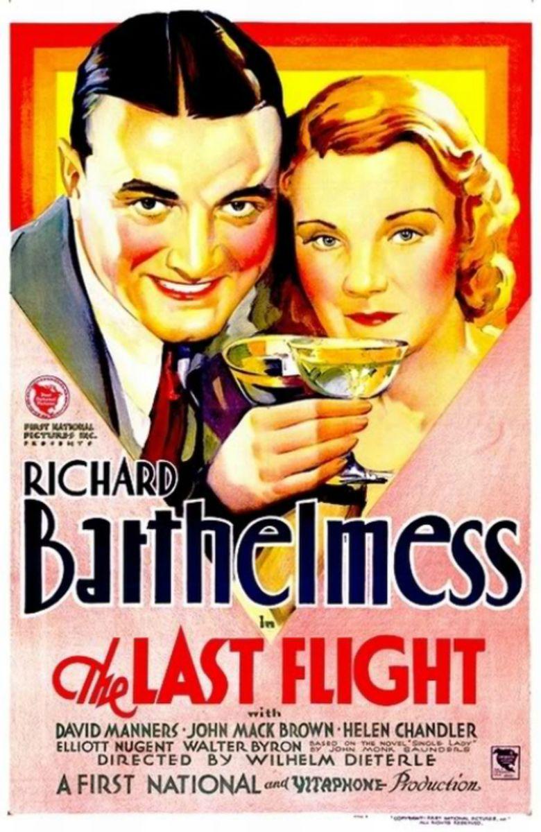 The Last Flight (1931 film) movie poster