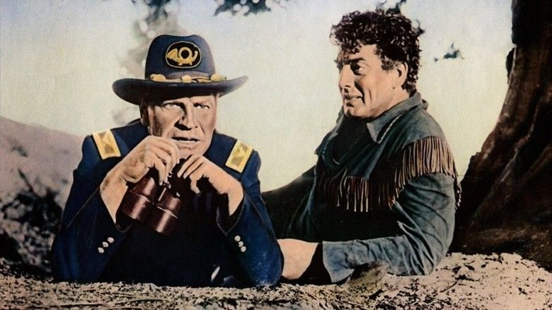 The Last Frontier (1955 film) movie scenes
