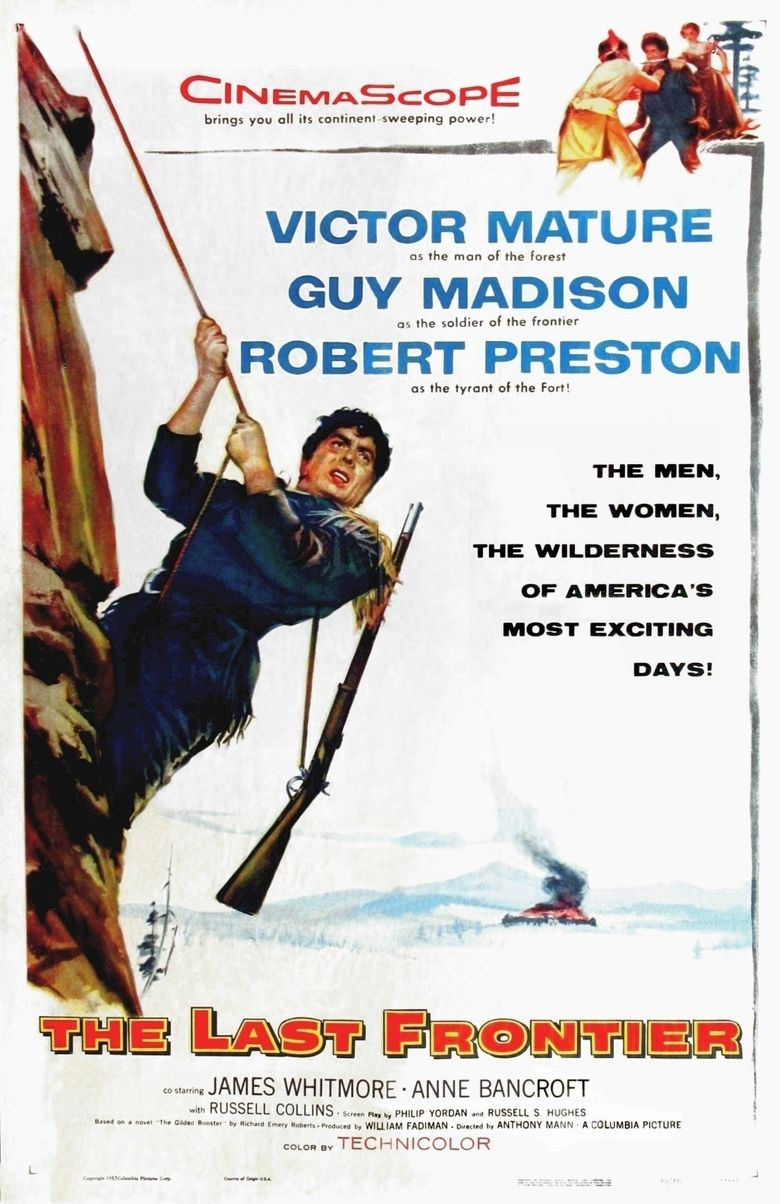 The Last Frontier (1955 film) movie poster
