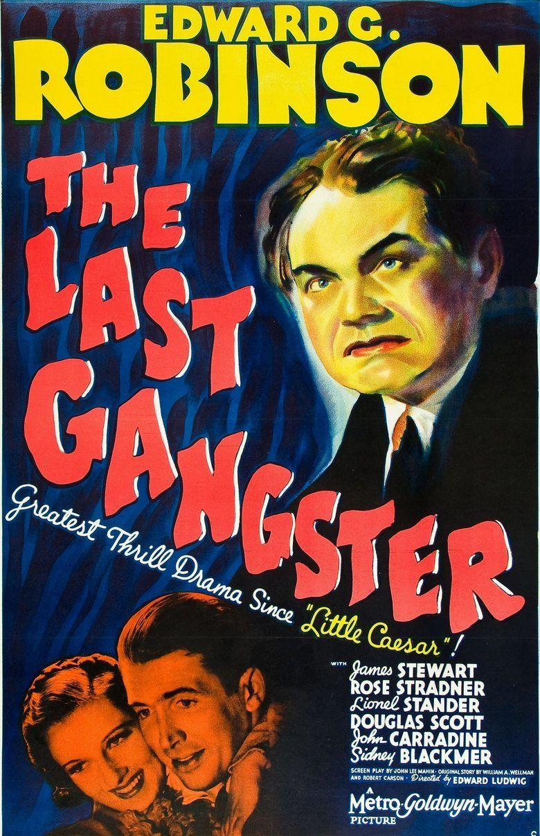 The Last Gangster movie poster